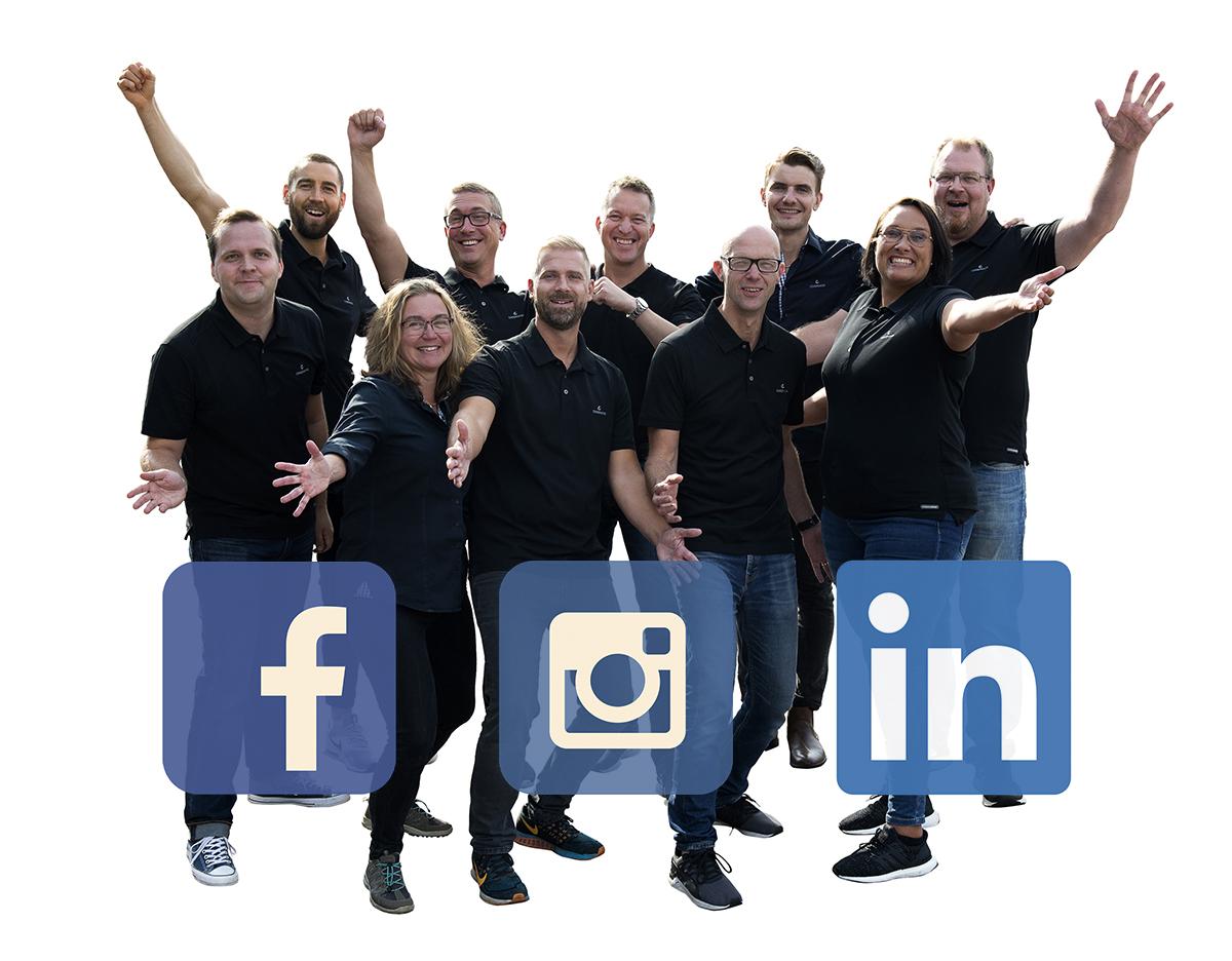 Våra uppskattade personalinlägg på sociala medier fortsätter!